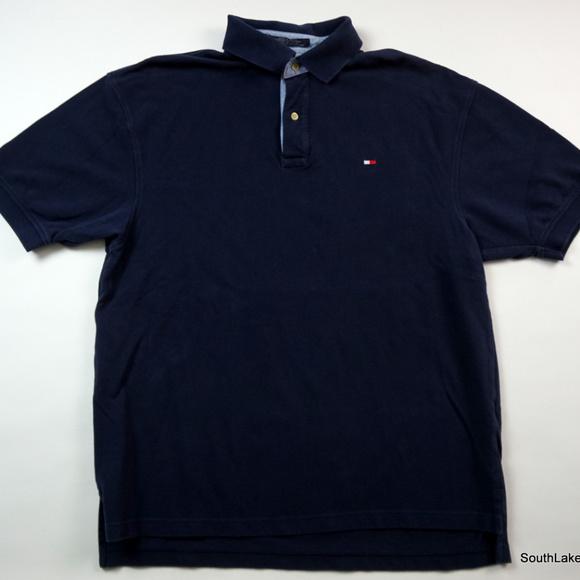 ff152551 Tommy Hilfiger Shirts | Vtg 90s Mens Flag Polo Shirt Large | Poshmark
